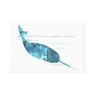 Art de Narwhal Toile