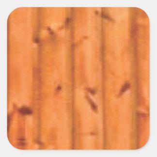 art de panneau de pin sticker carré