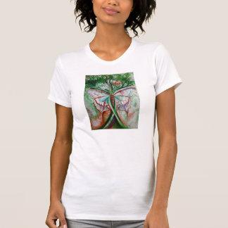 Art de papillon t-shirt
