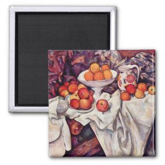 Art de Paul Cezanne Magnet Carré