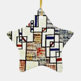 Art de Paul Klee : Cote De Provence, peinture de Ornement Étoile En Céramique