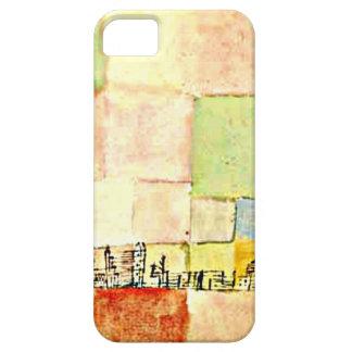 Art de Paul Klee - Neuer Stadtteil en M Étuis iPhone 5