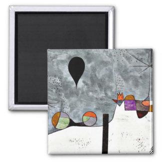 Art de Paul Klee Peinture d hiver Magnets