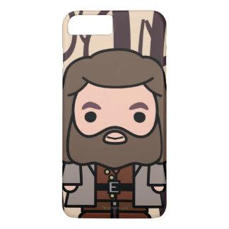 Art de personnage de dessin animé de Hagrid Coque iPhone 7 Plus