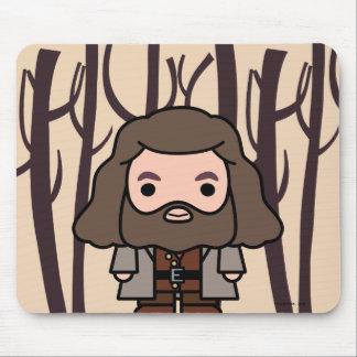 Art de personnage de dessin animé de Hagrid Tapis De Souris