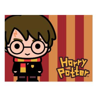 Art de personnage de dessin animé de Harry Potter Carte Postale