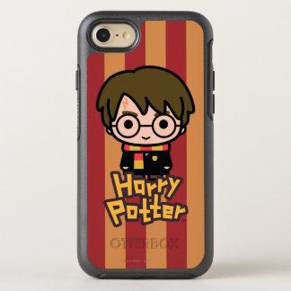 Art de personnage de dessin animé de Harry Potter Coque Otterbox Symmetry Pour iPhone 7