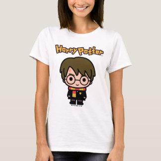 Art de personnage de dessin animé de Harry Potter T-shirt