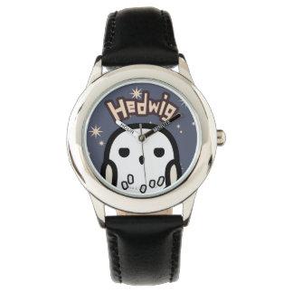 Art de personnage de dessin animé de Hedwig Montres Bracelet