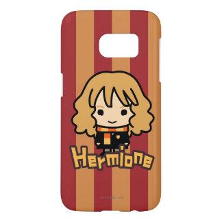 Art de personnage de dessin animé de Hermione Coque Samsung Galaxy S7