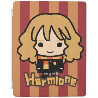 Art de personnage de dessin animé de Hermione Protection iPad