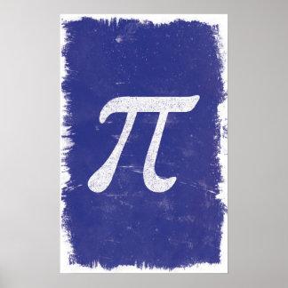 Art de pi - affiches de maths poster