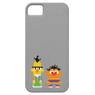Art de pixel de Bert et d'Ernie Coque iPhone 5 Case-Mate