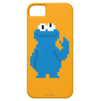 Art de pixel de monstre de biscuit coque iPhone 5