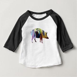 Art de porc t-shirt pour bébé