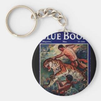 Art de _Pulp du livre bleu v63 n01 Porte-clé Rond