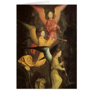 Art de Renaissance, choeur des anges par Simon Cartes