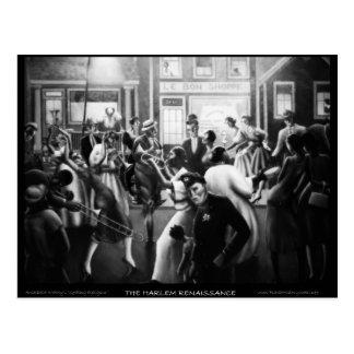"""Art de Renaissance de Harlem - """"obtenant la Cartes Postales"""
