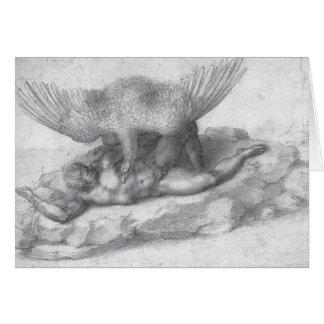 Art de Renaissance de Michaël Angelo Carte De Vœux