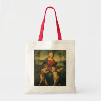 Art de Renaissance, Madonna du chardonneret, Sacs De Toile