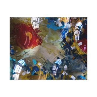 Art de résine de tournesol par l'artiste Gary Toiles Tendues Sur Châssis