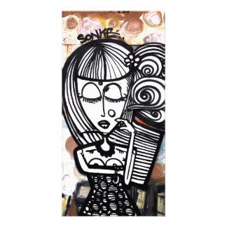 ART de rue Cartes Avec Photo