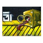 ART de rue Carte Postale