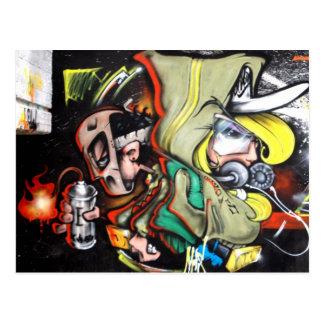 ART de rue Cartes Postales