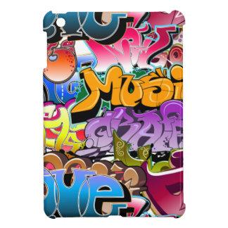 Art de rue de graffiti étui iPad mini