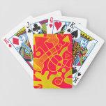 art de rue jeu de cartes poker