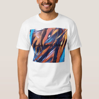 Art de rue par Shida T-shirt