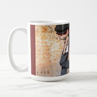 Art de rue tasses à café