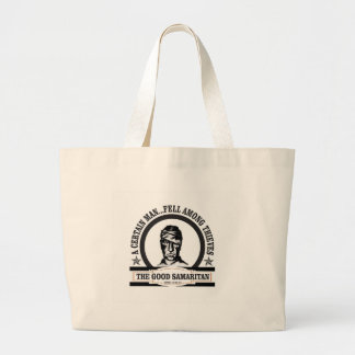 art de Samaritain de guerre biologique Grand Tote Bag