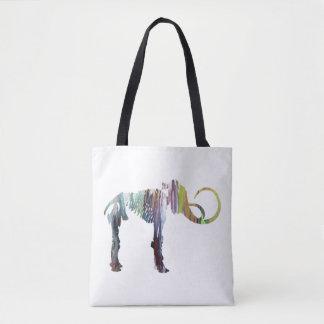 Art de squelette de mammouth laineux sac