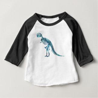 Art de squelette de rex de Tyrannosaurus T-shirt Pour Bébé