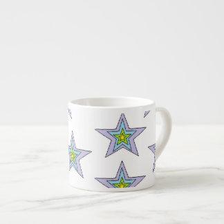 Art de tasse de café express par Jennifer Shao