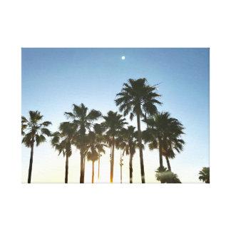 Art de toile de palmier