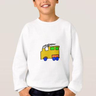 Art de train de garçon d'anniversaire sweatshirt