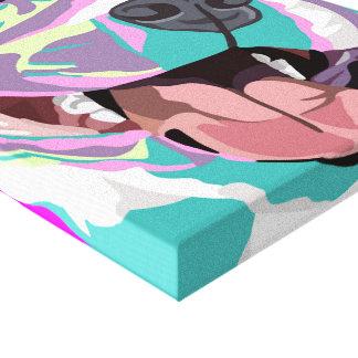 Art de Wal d'art de bruit de pitbull Toiles