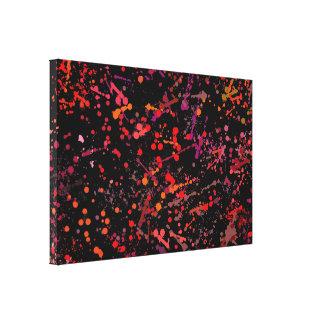 CAclaboussure peinture toile impressions