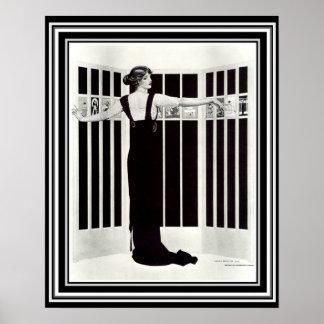 """Art déco écran"""" 16 x 20 """"de Coles Phillips d'image"""