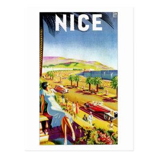 Art déco la Côte d'Azur agréable Carte Postale