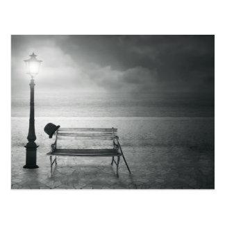 Art déco noir et blanc d'art de photo, cru, mémoir cartes postales