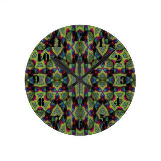 Art décoratif moderne horloge ronde