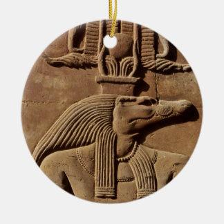 Art d'Egypte antique : Ornement de hiéroglyphes de