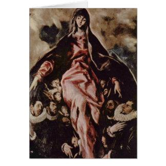 Art d'El Greco Carte De Vœux