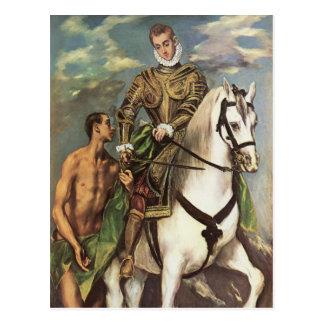 Art d'El Greco Carte Postale