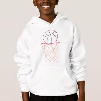 Art d'ensemble - basket-ball et dessin de cercle,