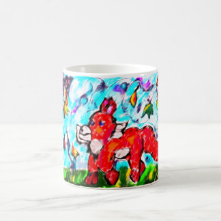 Art deux d'automne de Fox Mug Magic