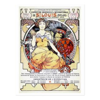 """""""Art d'exposition de St Louis carte postale par"""